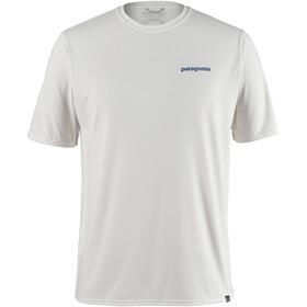 Patagonia Cap Cool Daily Graphic T-Shirt Uomo, bianco